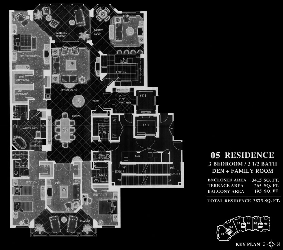 Trieste at Bay Colony 05 Floor Plan
