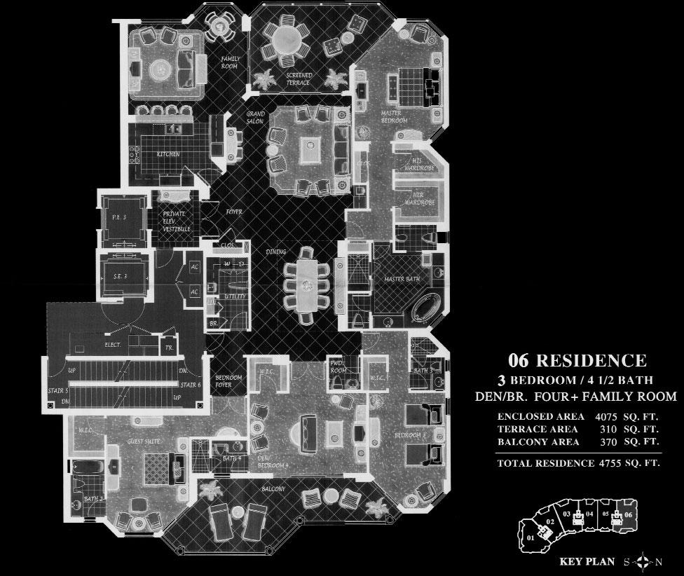 Trieste at Bay Colony 06 Floor Plan