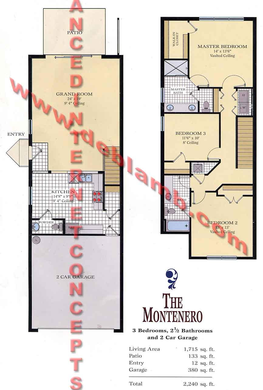 The Montenero - Pinehurst at Stratford Place