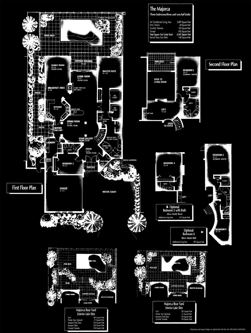 Vizcaya at Bay Colony Majorca Floor Plan