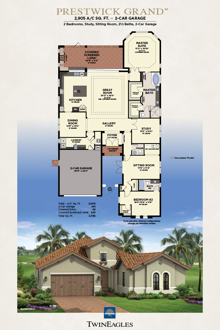 Minto Twin Eagles Prestwick Grand Floor Plan