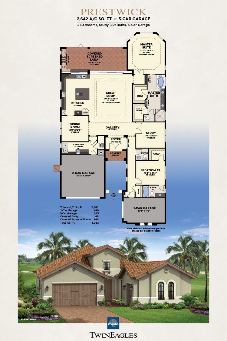 Minto Twin Eagles Prestwick Floor Plan