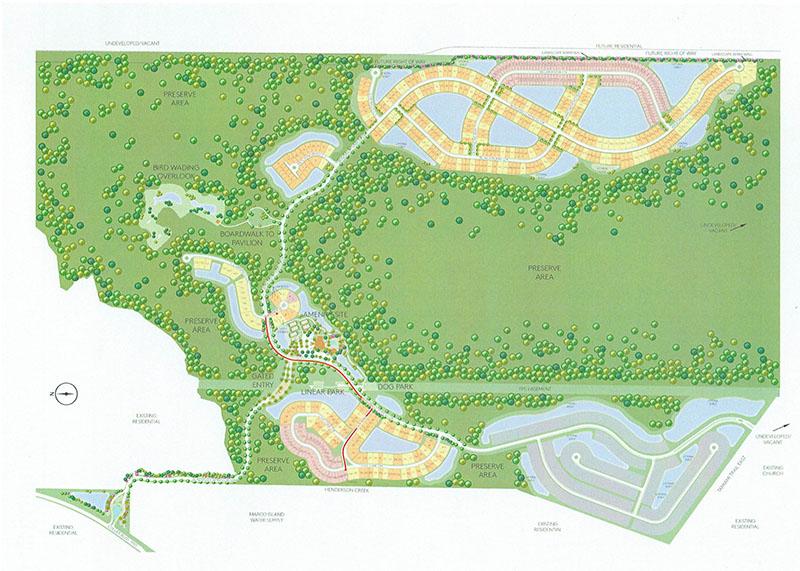 Winding Cypress Site Plan